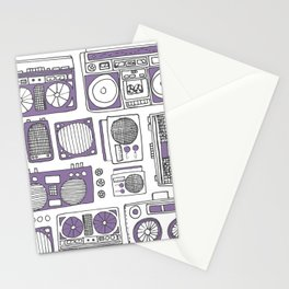 Boom Boxes Stationery Cards