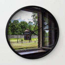 Auschwitz Wall Clock