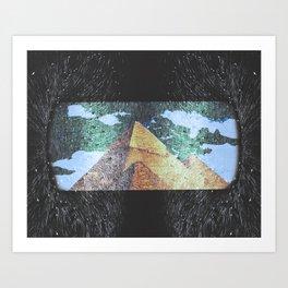 Pyramid Portal Art Print