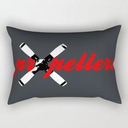Propellers 4 Blade --- clear2land.net  copyright Rectangular Pillow
