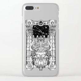 Minotaur's Labyrinth Clear iPhone Case