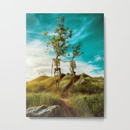We are in this together Metal Print
