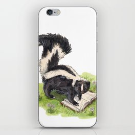 Studious Skunk iPhone Skin