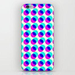 dots pop pattern iPhone Skin