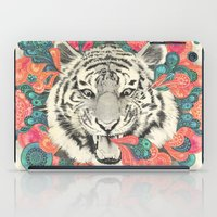 mandala iPad Cases featuring bengal mandala by Laura Graves