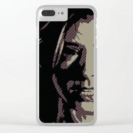 Dark Willow Clear iPhone Case