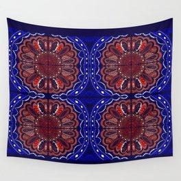 Patriotic Bandanna Wall Tapestry