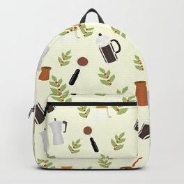 brewing pattern Backpack