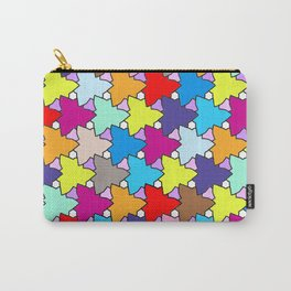 Spring Colors Geometric Carry-All Pouch