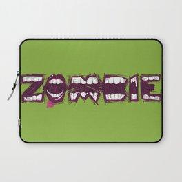 Zombie bites Laptop Sleeve