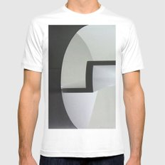 Cylinder Mens Fitted Tee MEDIUM White