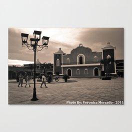 Hacienda  Canvas Print