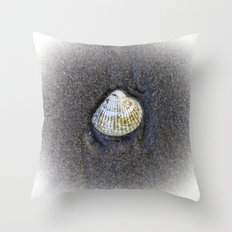 Seashells & Sand 4 Throw Pillow