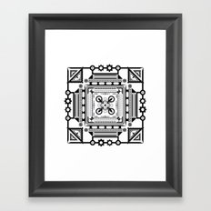 My Dear Pandora Framed Art Print