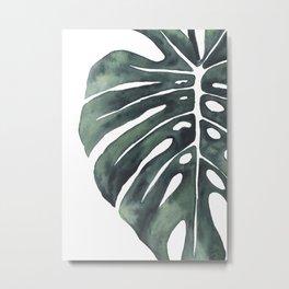 Monstera Leaf 3.4 Metal Print
