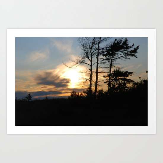 Sunset 6 Art Print