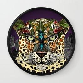 leopard queen Wall Clock