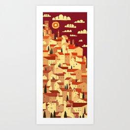 The Tiler Art Print
