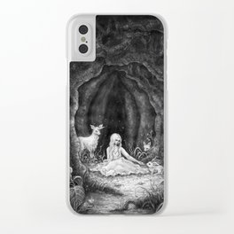 Forest nymph Clear iPhone Case
