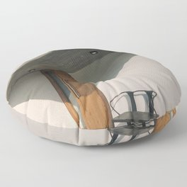 Modern Architecture in Buenos Aires Floor Pillow