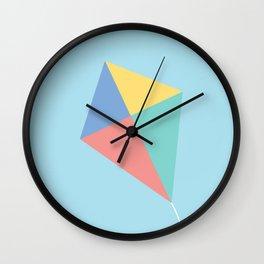 #73 Kite Wall Clock