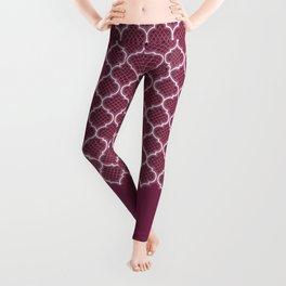 Harem Window (Mulberry Wine) Leggings