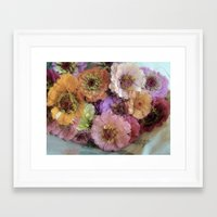 shabby chic Framed Art Prints featuring Shabby&Chic by Joke Vermeer