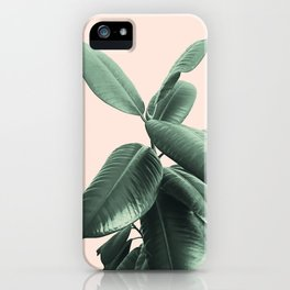 Ficus Elastica #25 #SummerVibes #foliage #decor #art #society6 iPhone Case