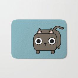 Cat Loaf - Brown Kitty Bath Mat