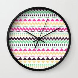 Tribal Pattern 02 Wall Clock