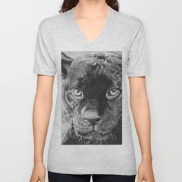 THE  PANTHER Unisex V-Neck