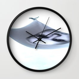 Cult of Youth: Flying Away Wall Clock