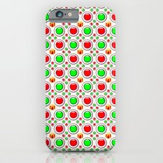 Christmas Tree Balls Pattern iPhone 6s Slim Case