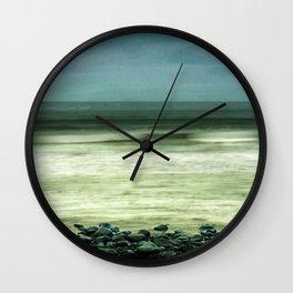Sea Turmoil Wall Clock