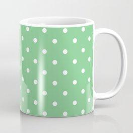 Sage Polka Dots Coffee Mug