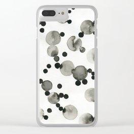 Como pompas II Clear iPhone Case