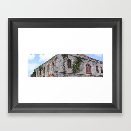 The Old Marketplace Framed Art Print