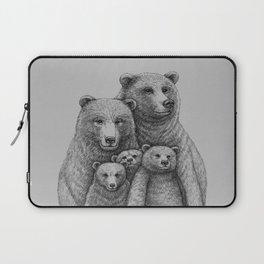 Family photo (mr. Bear) Laptop Sleeve