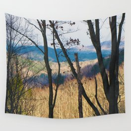 Mountain Shadows Wall Tapestry