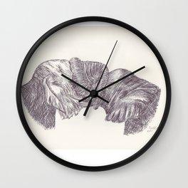 BALLPEN ELEPHANT 9 Wall Clock