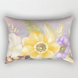 Flowers bouquet 78 Rectangular Pillow