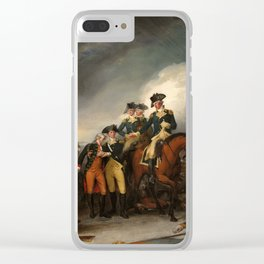 The Capture of the Hessians at Trenton, December 26, 1776 Clear iPhone Case