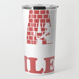 tilers tiles gift profession handicraft job Travel Mug
