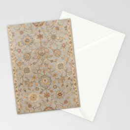 Antique Persian Floral Medallion Vector Painting Stationery Cards