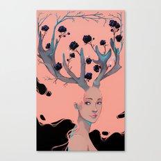 Lady Cornue. Canvas Print