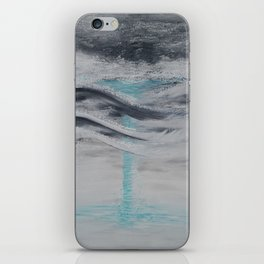 """Wind And Water"" Painting1of 2 - Elements Series iPhone Skin"