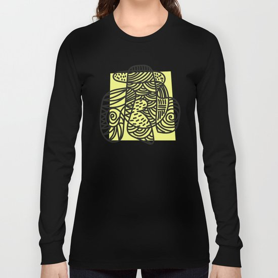 A Lot Of Lines Long Sleeve T-shirt