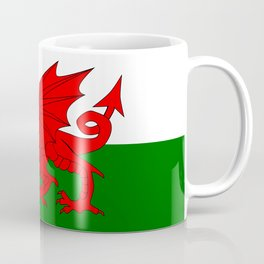 Welsh Dragon Flag Coffee Mug