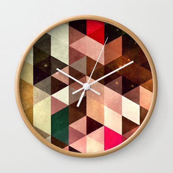 pyrty xyn Wall Clock