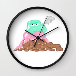 Scoopz: Rolling Fat Pints Wall Clock